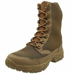 """Hunting Boots 8"""" outer side view Altai gear"""