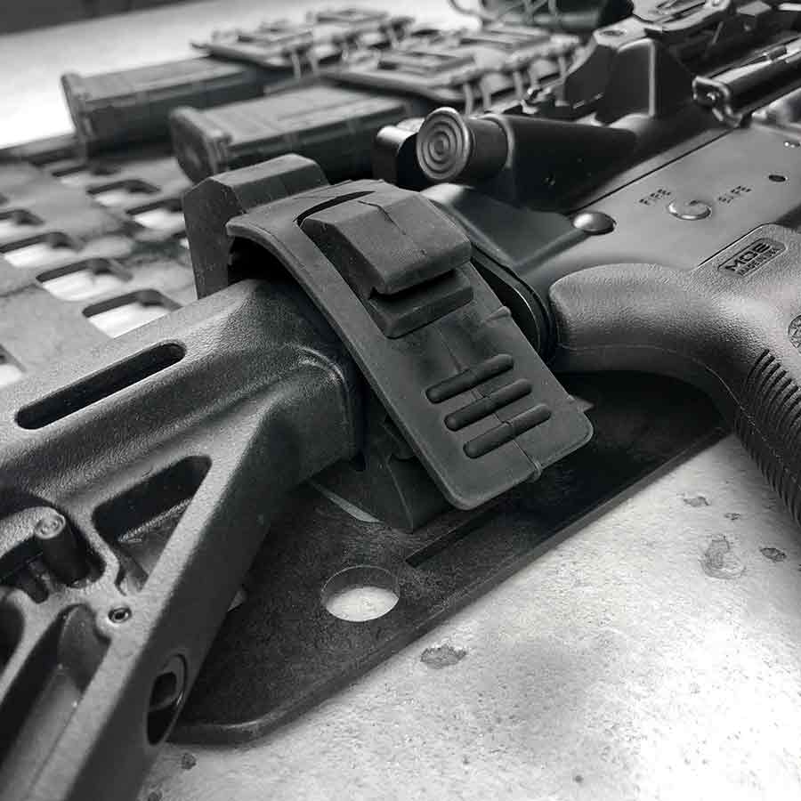 truck and car rifle mount for ar15