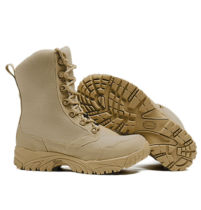 Combat Boots Side view and bottom sole Altai gear