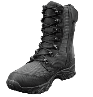 """Zip up tactical boots 8"""" black inner toe altai Gear"""