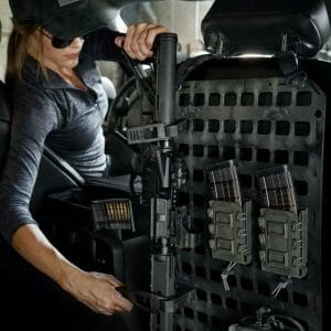 Molle Panel for trucks cars and mounting rifle