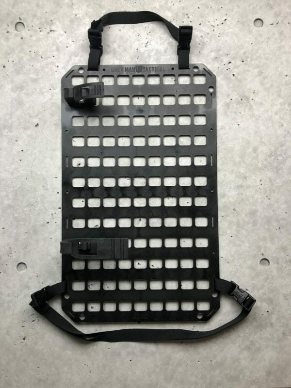 24 inch strap for molle panel set up