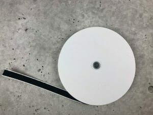 Adhesive backed - low profile loop velcro roll