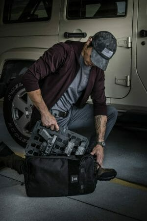 Backpack Molle Panels