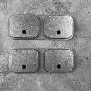 RMP Backer Plate [Locking Rifle Mount - Raptor Buffer Tube or Picatinny] Pair just the plate