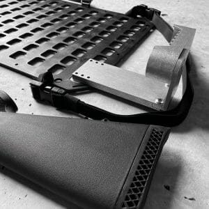 RMP Buttstock - 6 Extension for molle panel