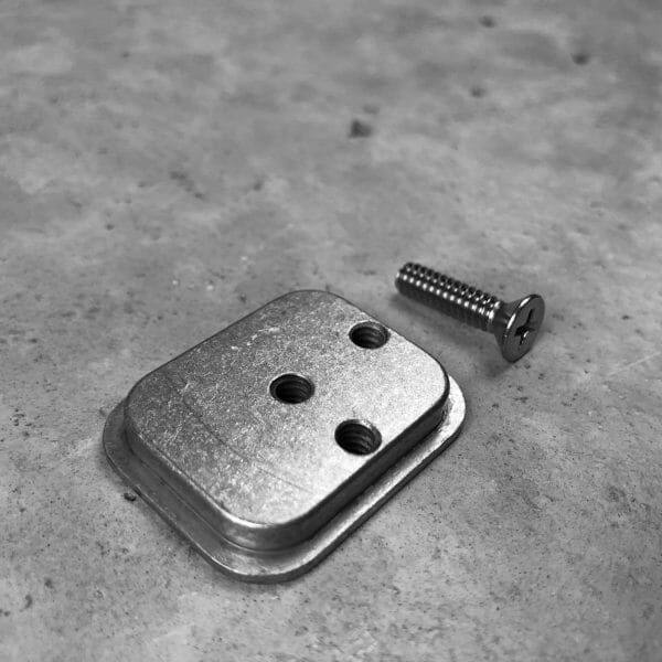 mounting bracket for buffer tube rifle mount for molle
